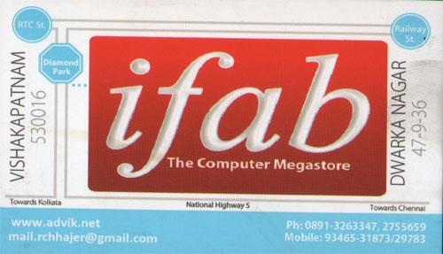 ifab, ifabComputers, ifabComputersDwarakanagar, ifab contact